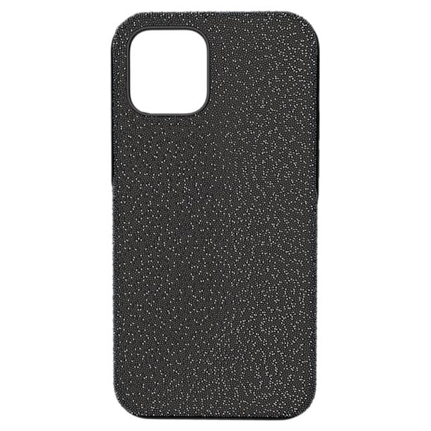 High smartphone case , iPhone® 12/12 Pro, Black - Swarovski, 5616377