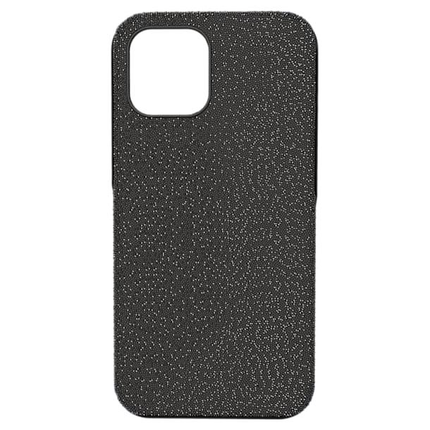 High smartphone case, iPhone® 12 Pro Max, Black - Swarovski, 5616378