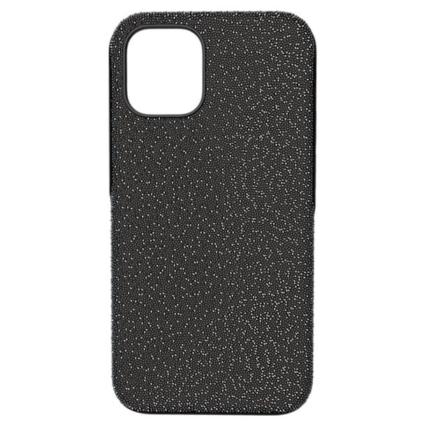 High Чехол для смартфона, iPhone® 12 mini, Черный кристалл - Swarovski, 5616379