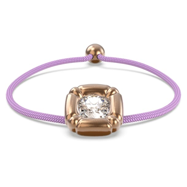 Dulcis Браслет, Кристаллы в огранке «подушка», Пурпурный кристалл, Родиевое покрытие - Swarovski, 5617983