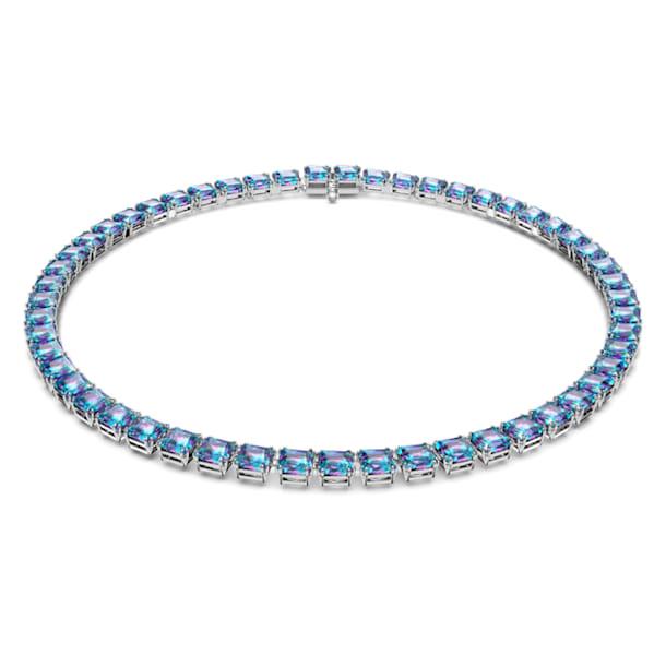 Collar Millenia, Cristal de talla cuadrada, Baño de rodio - Swarovski, 5618628