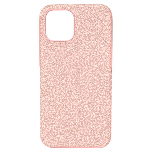 High okostelefon tok, iPhone® 12 Pro Max, Rózsaszín - Swarovski, 5622304