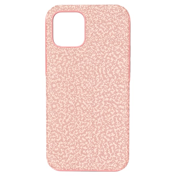 High okostelefon tok, iPhone® 12/12 Pro, Rózsaszín - Swarovski, 5622305