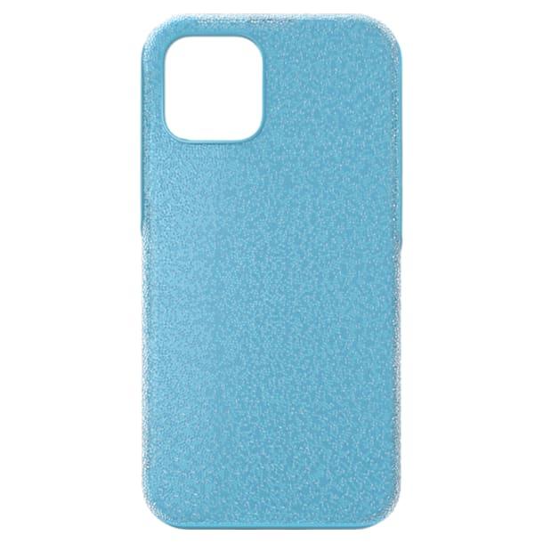 High Чехол для смартфона, iPhone® 12/12 Pro, Синий кристалл - Swarovski, 5622307