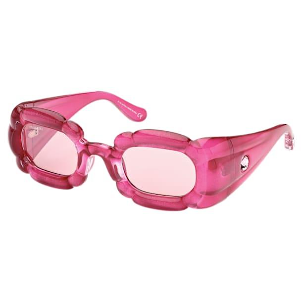 Ochelari de soare DLC002, Statement, Roz - Swarovski, 5625298