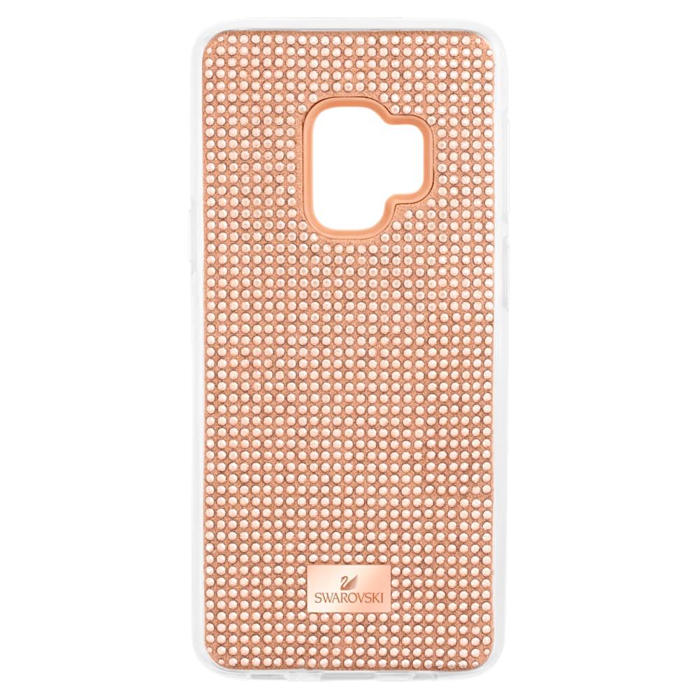 Coque rigide pour smartphone avec cadre amortisseur Hero, Galaxy S®9, rose