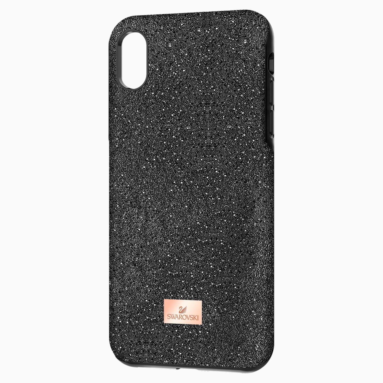 coque rigide pour smartphone avec cadre amortisseur high iphone® xr noir swarovski 5449146