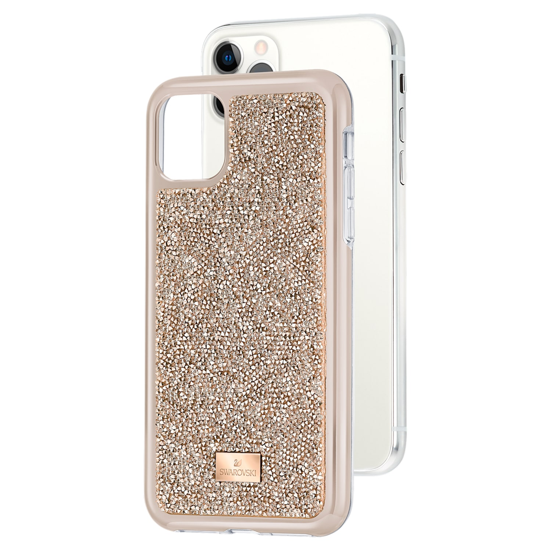 Glam Rock Smartphone Case with Bumper, iPhone® 11 Pro Max, Rose gold tone