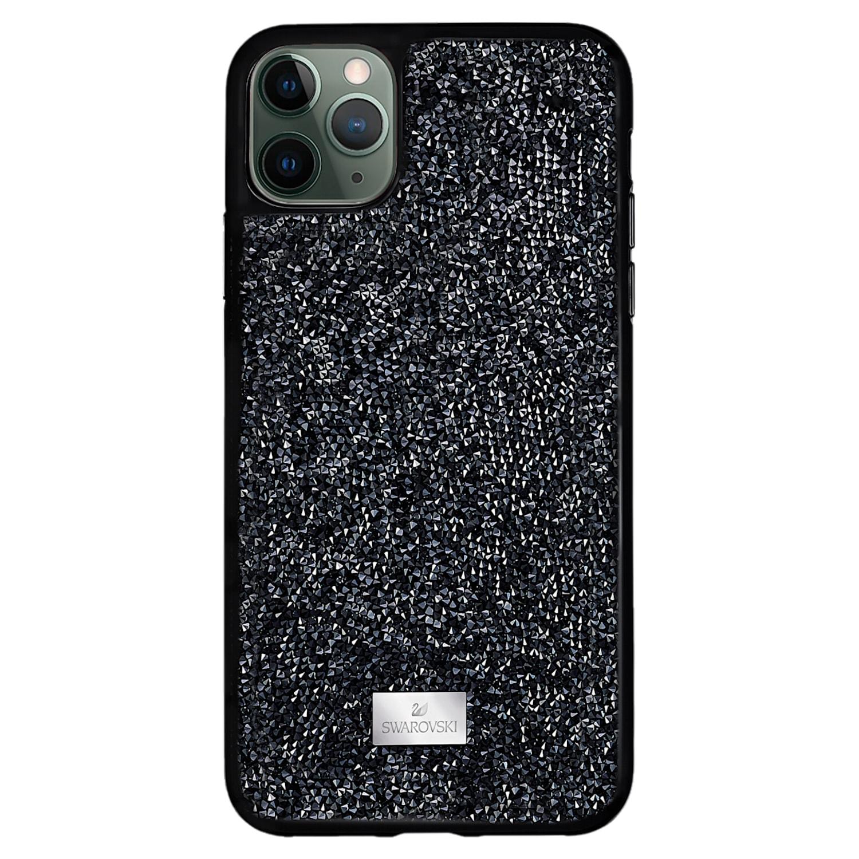 Custodia per smartphone Glam Rock, iPhone® 12 Pro Max, nero