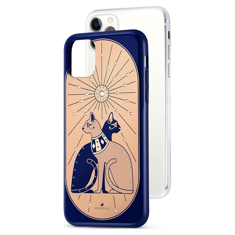 Coque rigide pour smartphone avec cadre amortisseur Theatrical Cat, iPhone® 11 Pro Max