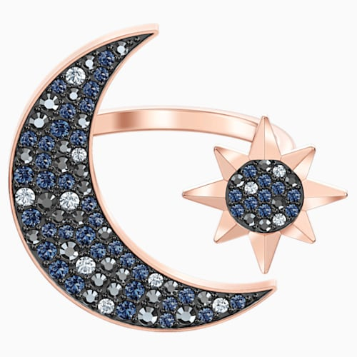 bague swarovski lune