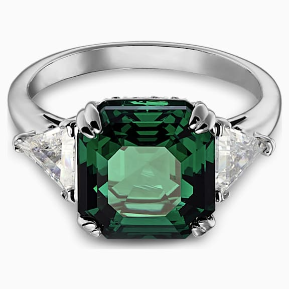 bague swarovski attract light rectangular