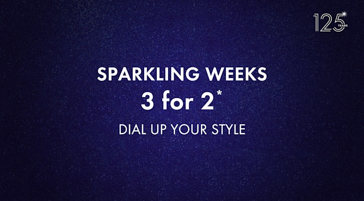 SPARKLING WEEKS 3 for 2*